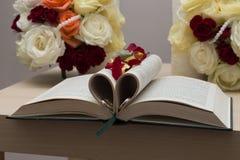 BröllopBucharest bok Royaltyfri Foto