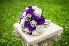 Bröllopbukett Arkivfoto