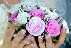 Bröllopbukett Royaltyfria Foton