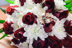 Bröllopbukett för brud Royaltyfri Foto
