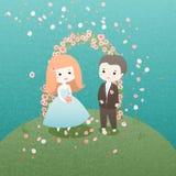 Bröllopdag Arkivbild