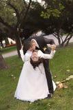 Bröllopdag Arkivfoton