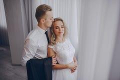 Bröllopdag i odessa Arkivfoto