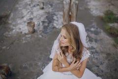 Bröllopdag i odessa Fotografering för Bildbyråer