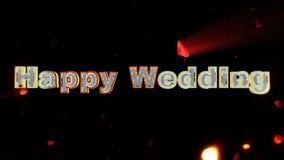 Bröllopdag, rosa hjärta som exploderar stock illustrationer