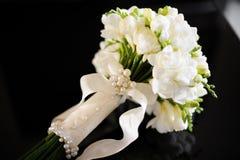 Härlig bröllopbukett Fotografering för Bildbyråer