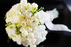 Härlig bröllopbukett Royaltyfria Bilder