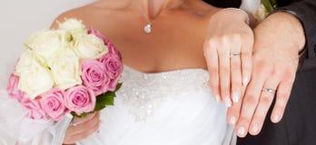 Bröllopdetaljer arkivfoto