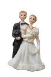 Bröllopdockor Fotografering för Bildbyråer
