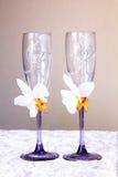 Bröllopexponeringsglas Royaltyfri Foto