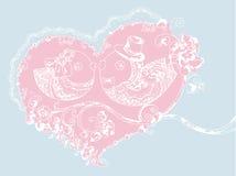 Bröllopfåglar Royaltyfria Bilder