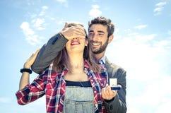 Bröllopförslag Fotografering för Bildbyråer