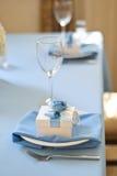 Bröllopgåva för gästgodisask Arkivfoto