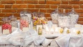 Bröllopgåvor för gäst fotografering för bildbyråer