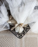 Bröllopgåvor för gäst Arkivbild