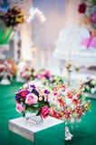 Bröllopgarnering Royaltyfria Foton