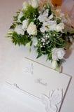 Bröllopgarnering Arkivbild