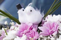 Bröllopgarneringbukett Arkivfoto