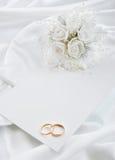 Bröllopinbjudan Royaltyfri Bild