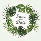 Bröllopinbjudandesign Arkivfoton