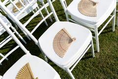 Bröllopinställning royaltyfria bilder
