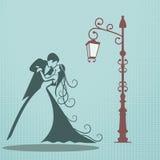 Bröllopkort Arkivbild