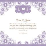 Bröllopkort Arkivbilder