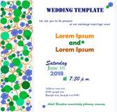 Bröllopmallvit Arkivbilder