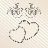 Bröllopmeddelande Arkivfoton