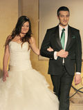 Bröllopmodeshow Arkivfoto