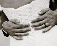 Bröllopromantiker Fotografering för Bildbyråer