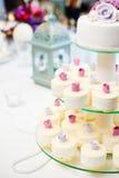 Bröllopsötsaker Arkivbild