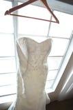 Bröllopsklänning Royaltyfri Fotografi