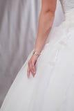 Bröllopsklänning. Royaltyfri Foto