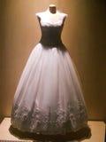 Bröllopsklänningar Arkivfoto