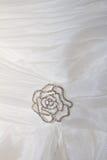Bröllopsklänningen specificerar Royaltyfri Foto