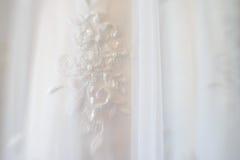 Bröllopsklänningsuddighet Royaltyfri Bild