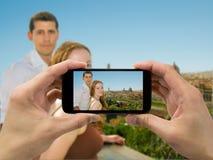 Bröllopsresa i Firenza Royaltyfria Bilder