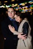Bröllopsresabarnpar royaltyfria foton