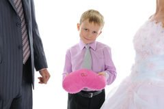 bröllopsresan ringer bröllop Royaltyfri Bild