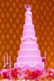 Bröllopstårta Royaltyfri Foto