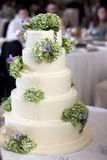 Bröllopstårta arkivfoto