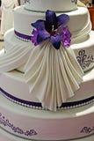 Bröllopstårta som dekoreras special. Detalj 21 Royaltyfria Bilder