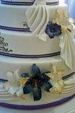 Bröllopstårta som dekoreras special. Detalj 12 Royaltyfri Bild