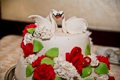 Bröllopstårtor Royaltyfria Foton