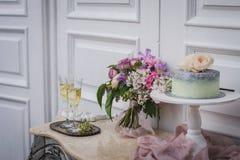 Bröllopstårtor Royaltyfria Bilder
