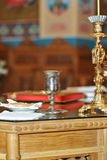 Bröllopsymboler av kristendomen Royaltyfria Bilder