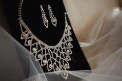 Brölloptillbehör av bruden Royaltyfri Fotografi