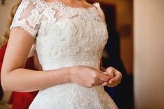 Brölloptillbehör för brud Arkivfoto