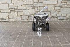 Bröllopvagn Arkivfoto